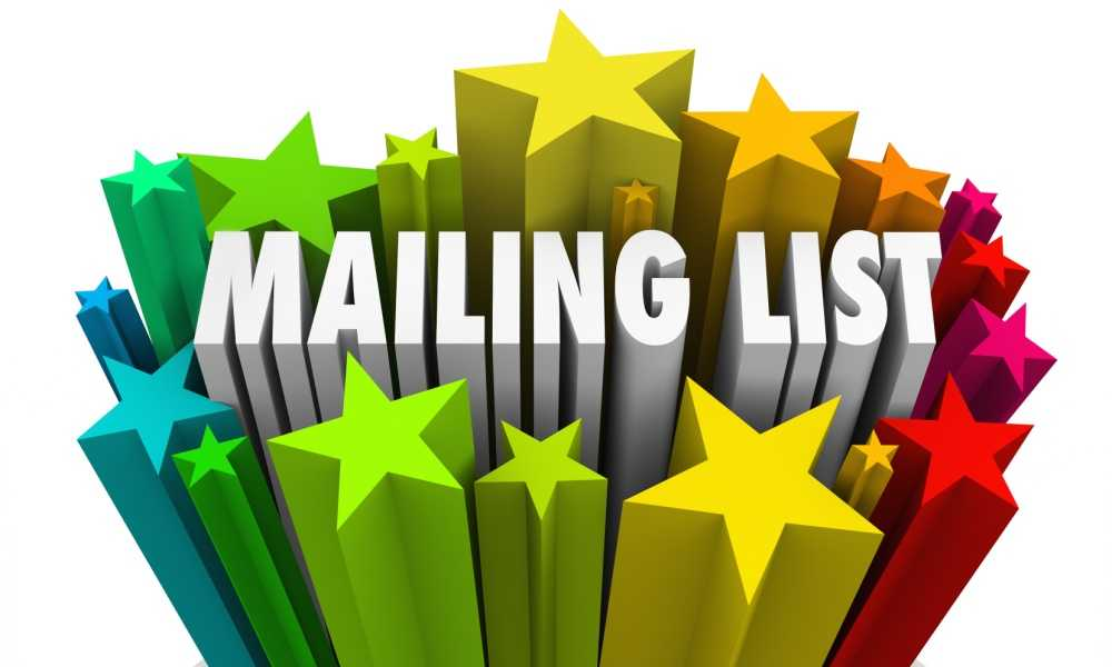 How to Create a Mailing List from Scratch?