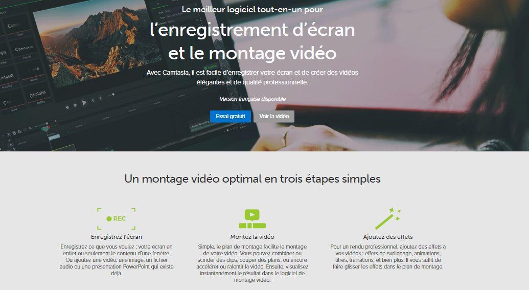 Camtasia : le logiciel de capture de vidéos tout-en-un