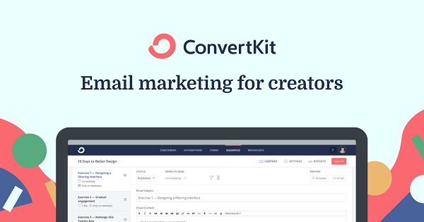 ConvertKit, le logiciel de marketing automation phare pour les entrepreneurs