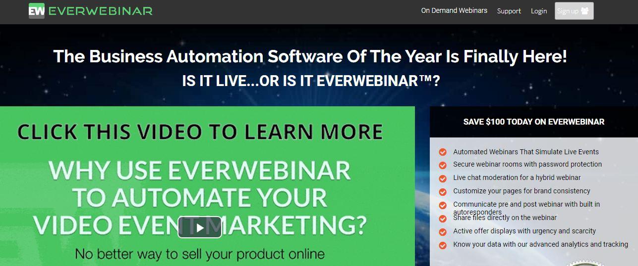 Everwebinar : outil d'automatisation innovant