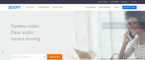 Zoom, la solution parfaite pour vos webinaires et visioconférences