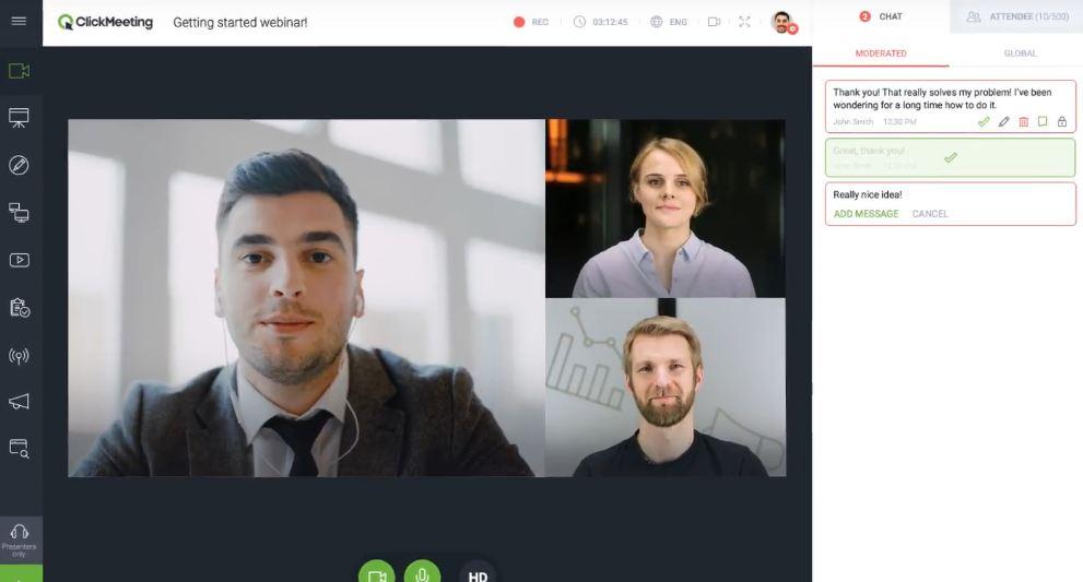 ClickMeeting, présentation de l'outil webinaire