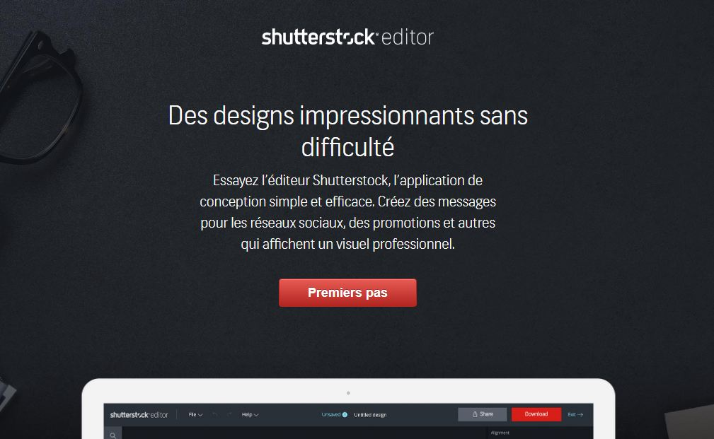 Shutterstock Editor Pro, votre outil de personnalisation