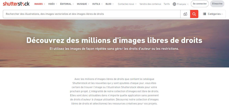 Shutterstock, la référence des banques d'images