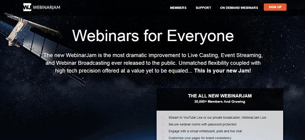 WebinarJam, plateforme webinaire ergonomique et efficace pour les entrepreneurs web